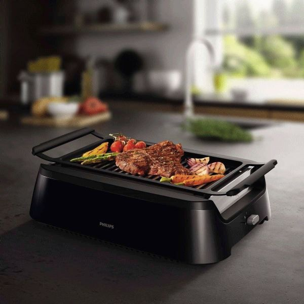 Philips Smoke-less Indoor Grill HD6370/91 Avance Collection 1600W